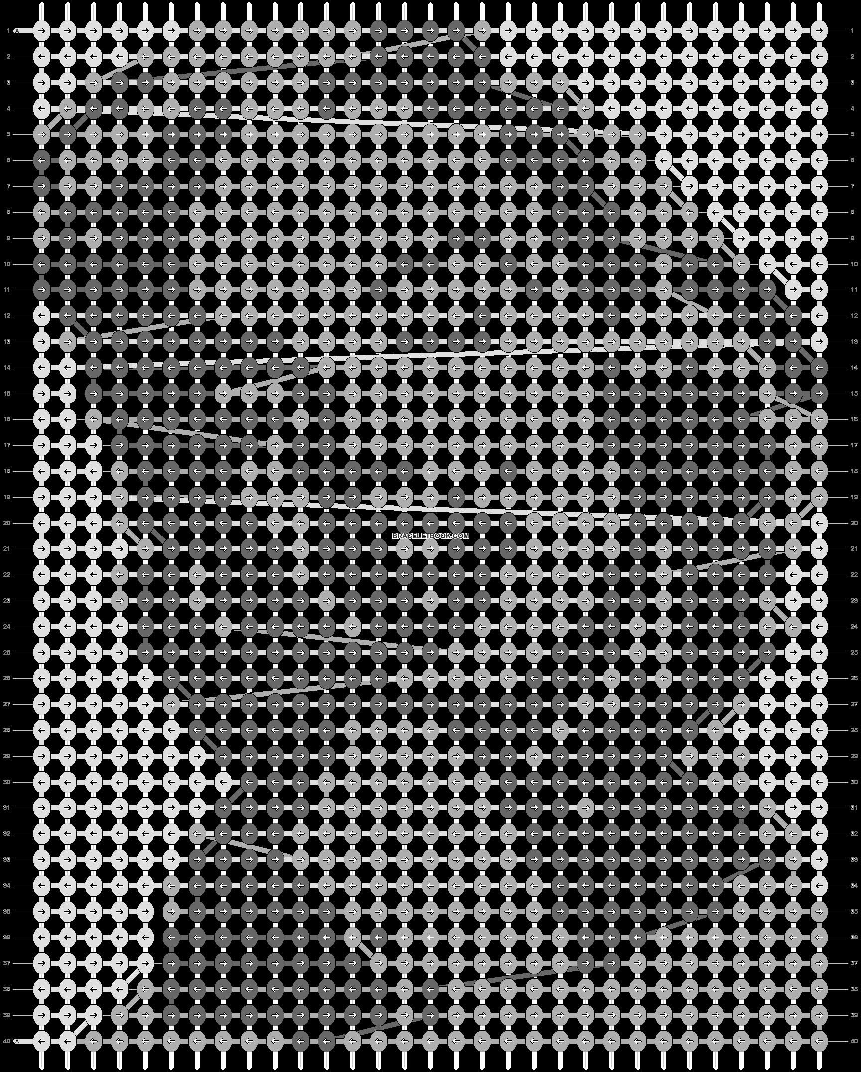 Alpha pattern #70023 pattern