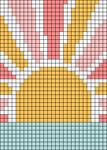 Alpha pattern #70035