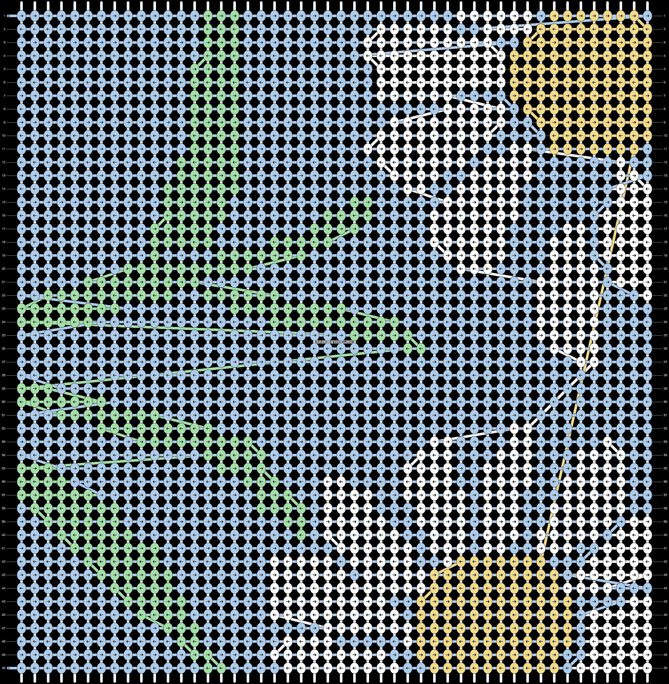 Alpha pattern #70051 pattern