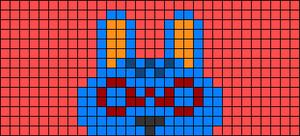 Alpha pattern #70097