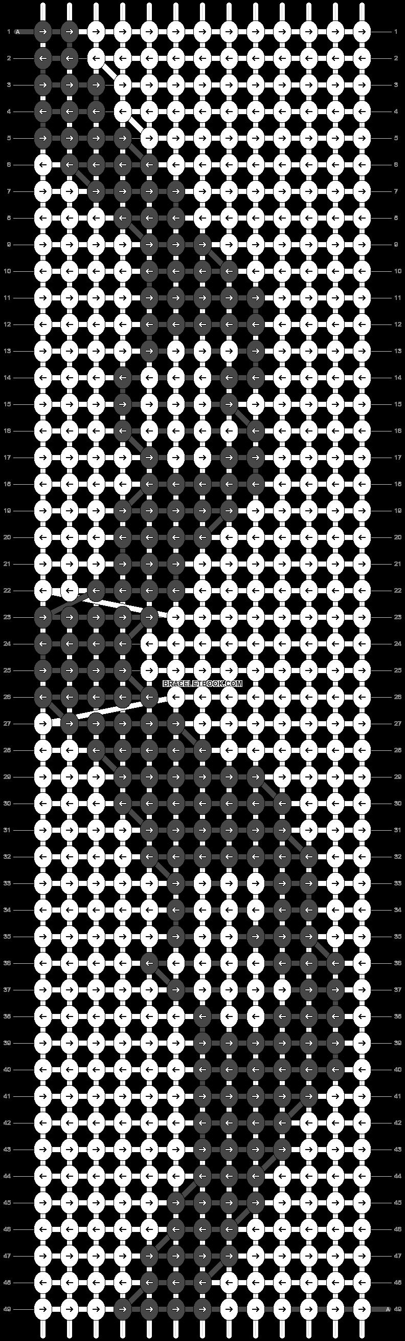 Alpha pattern #70099 pattern