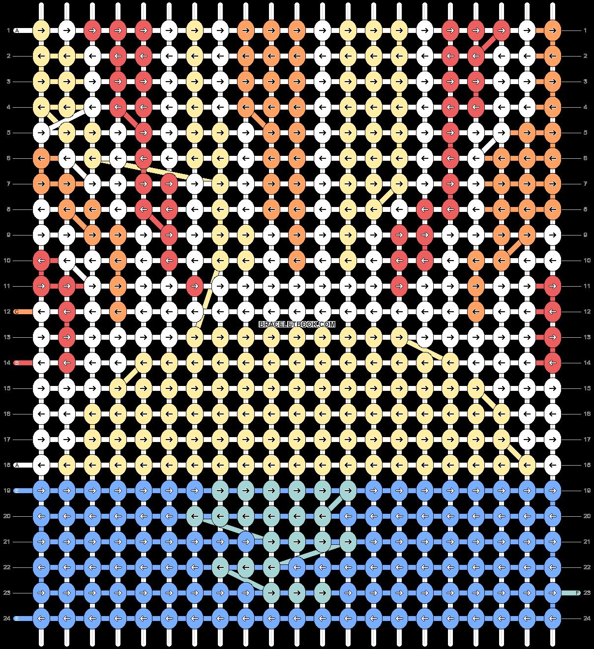 Alpha pattern #70152 pattern