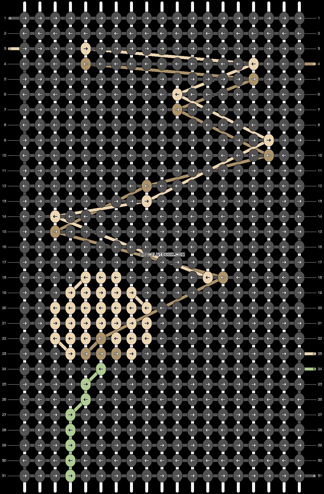 Alpha pattern #70154 pattern
