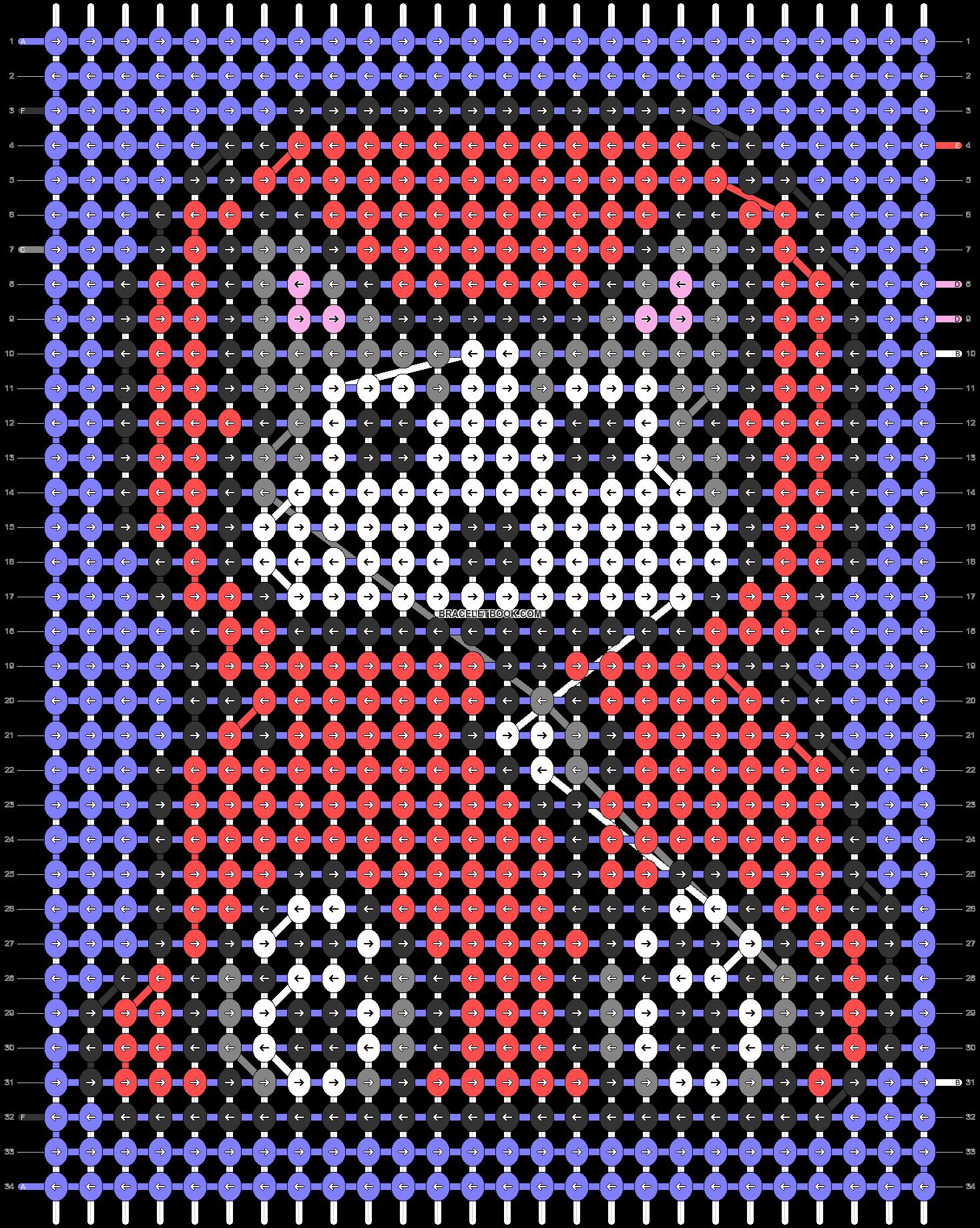 Alpha pattern #70168 pattern
