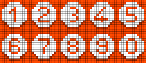 Alpha pattern #70217