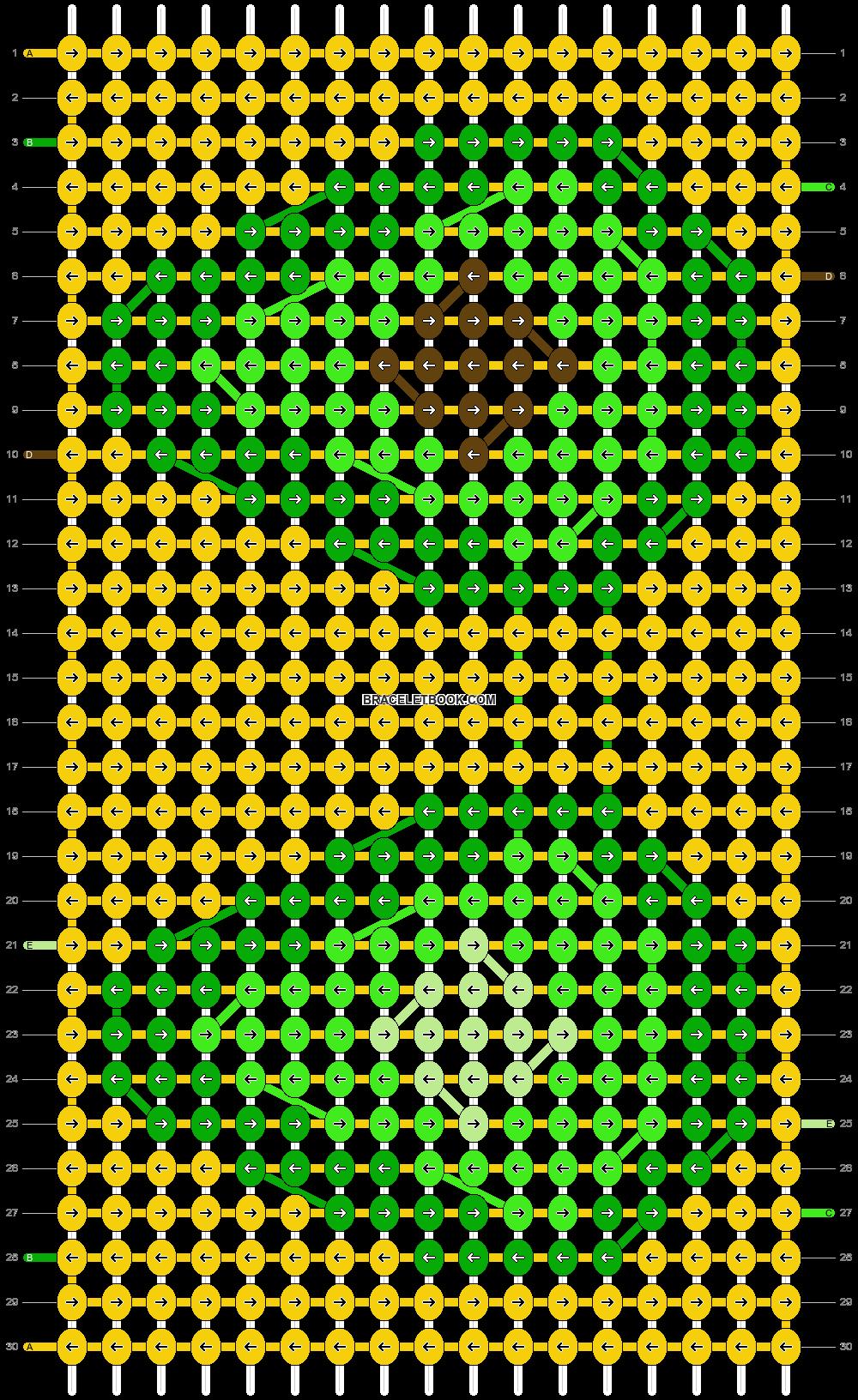 Alpha pattern #70220 pattern