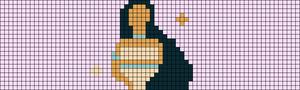 Alpha pattern #70236