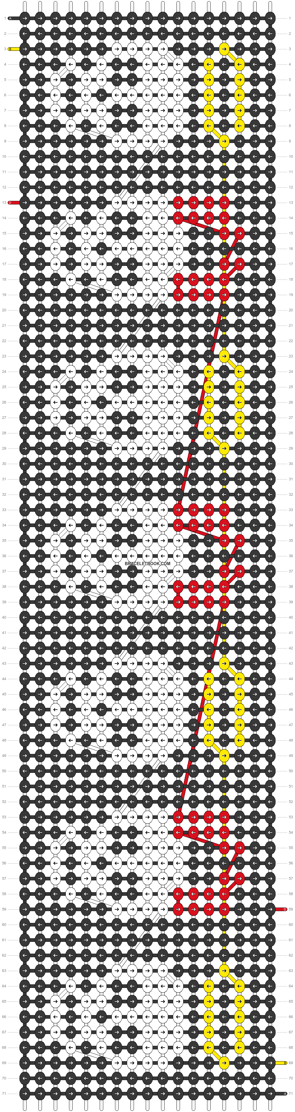 Alpha pattern #70258 pattern
