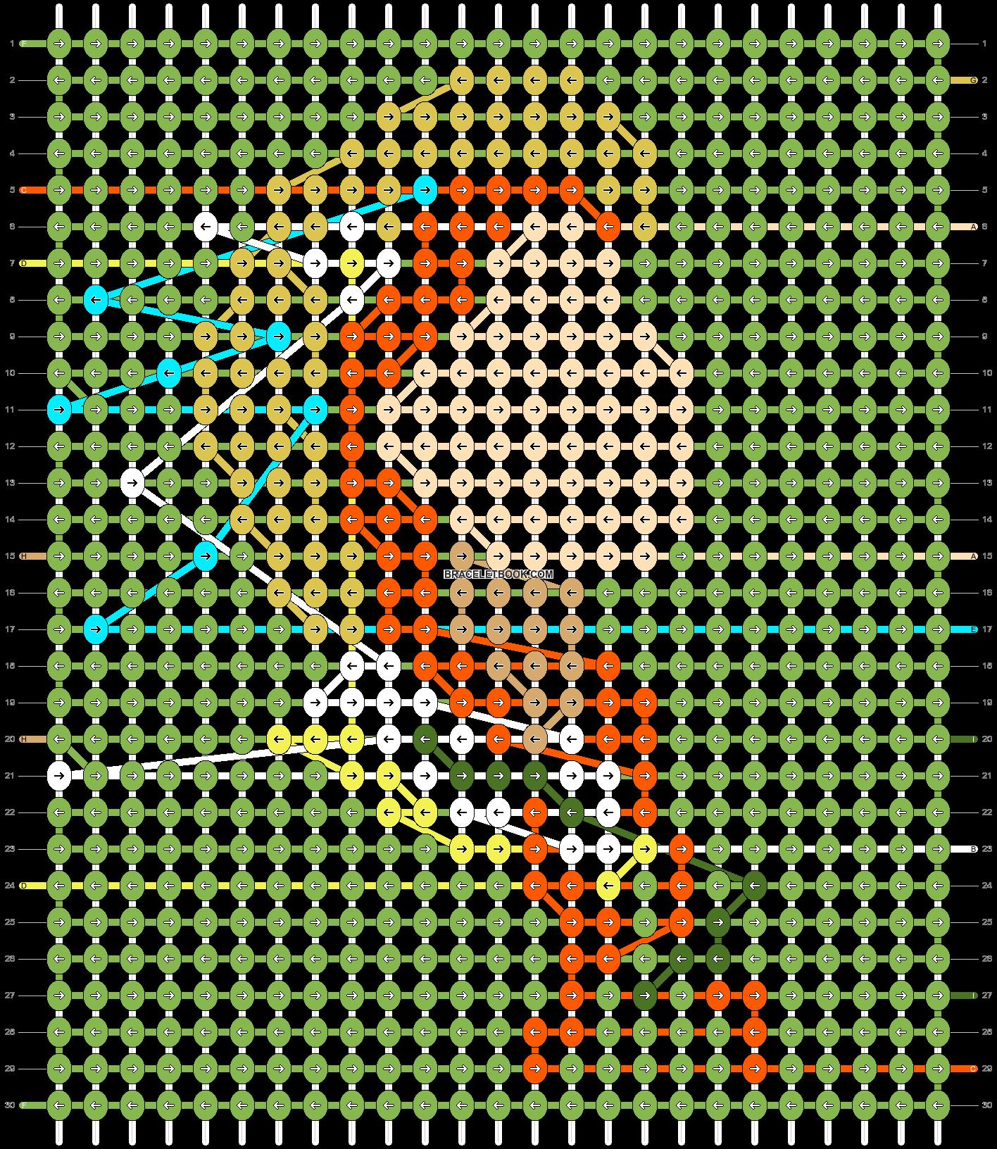 Alpha pattern #70296 pattern