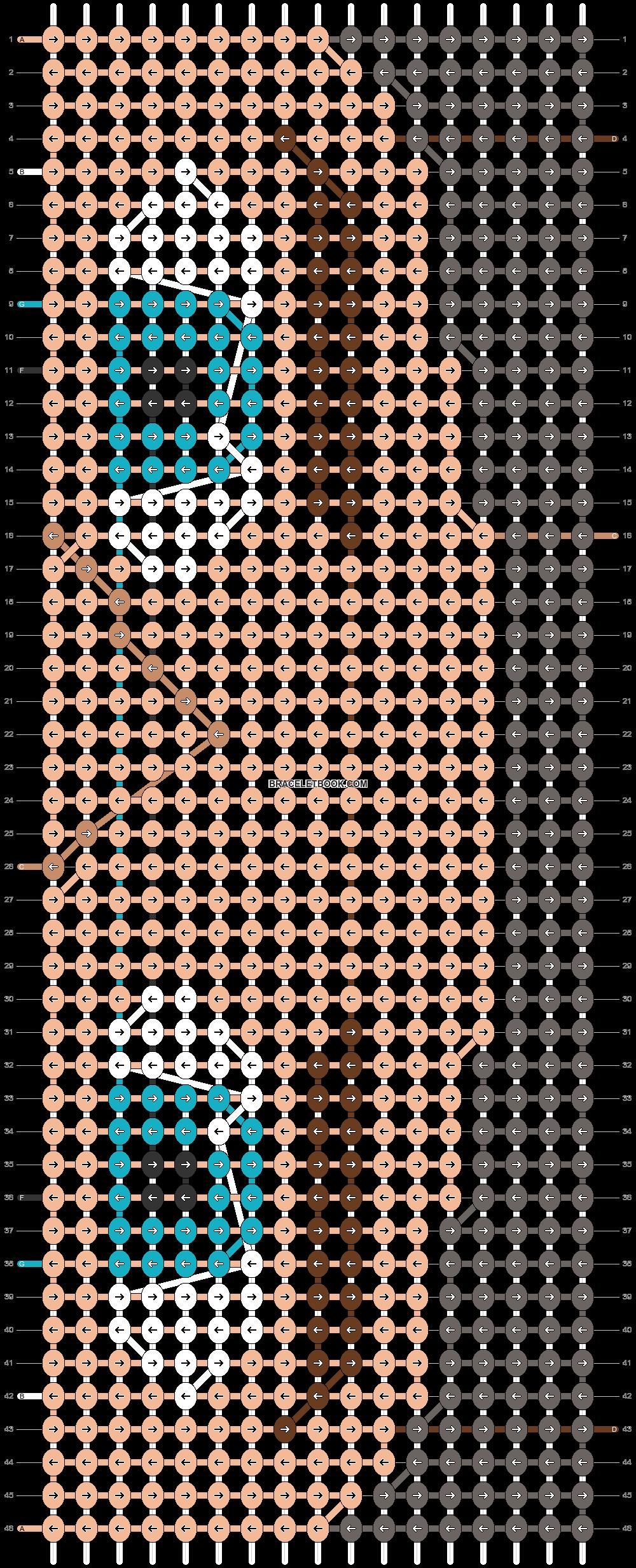 Alpha pattern #70301 pattern