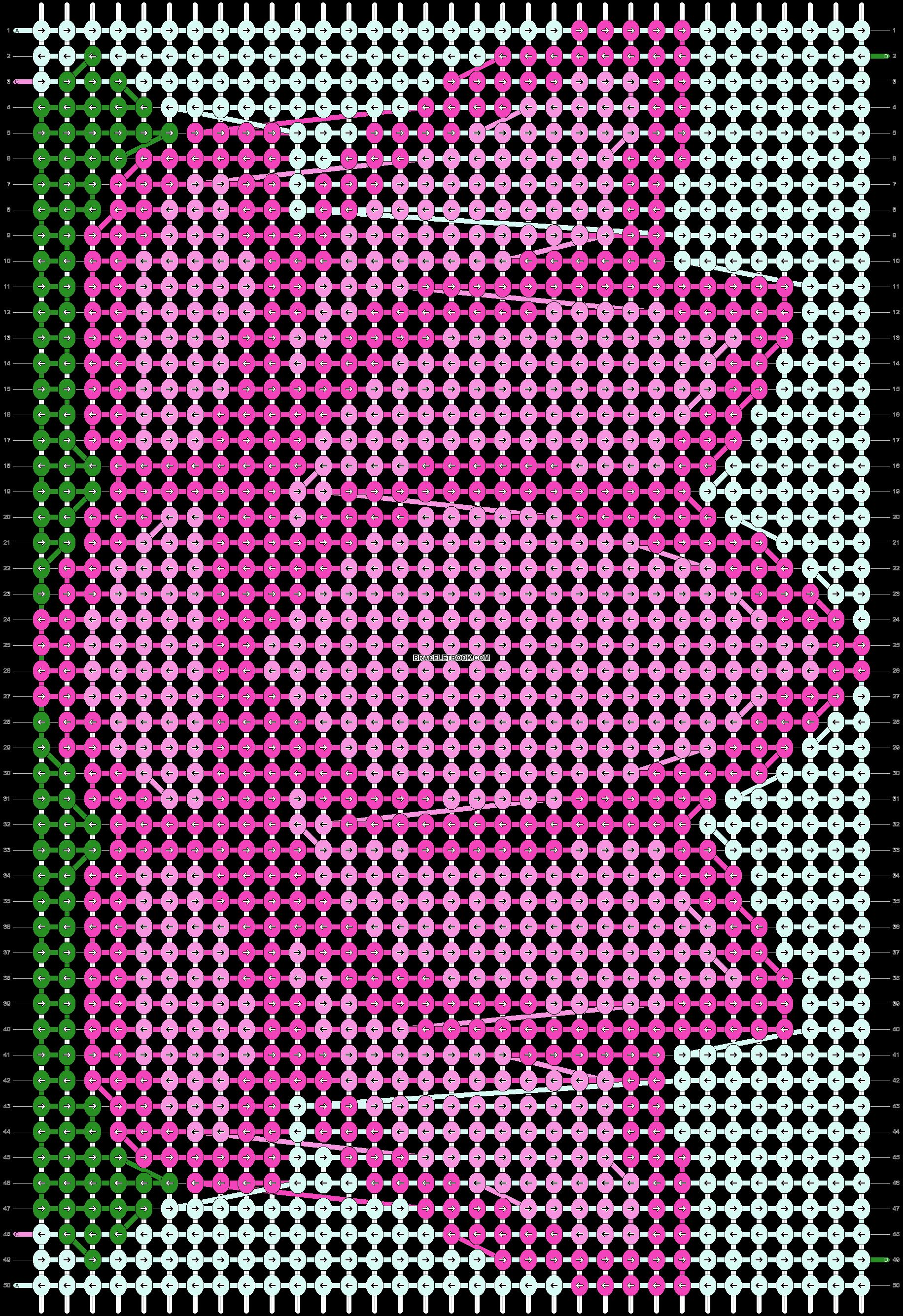 Alpha pattern #70310 pattern