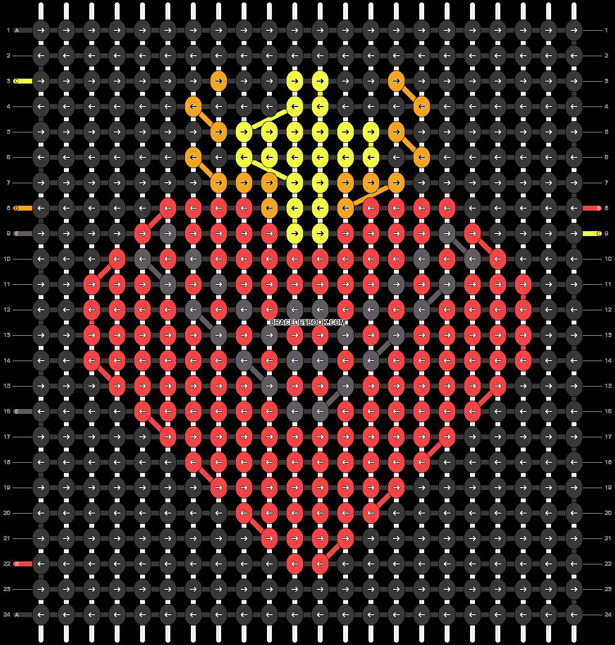 Alpha pattern #70338 pattern
