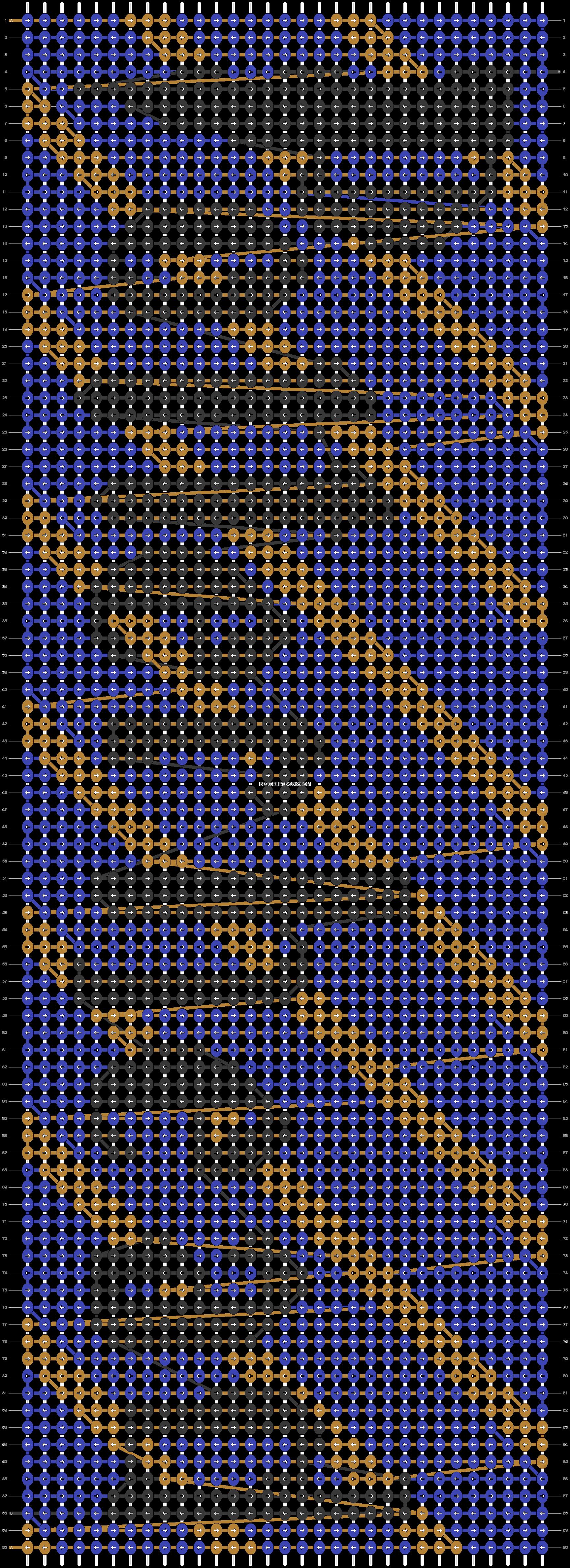 Alpha pattern #70350 pattern