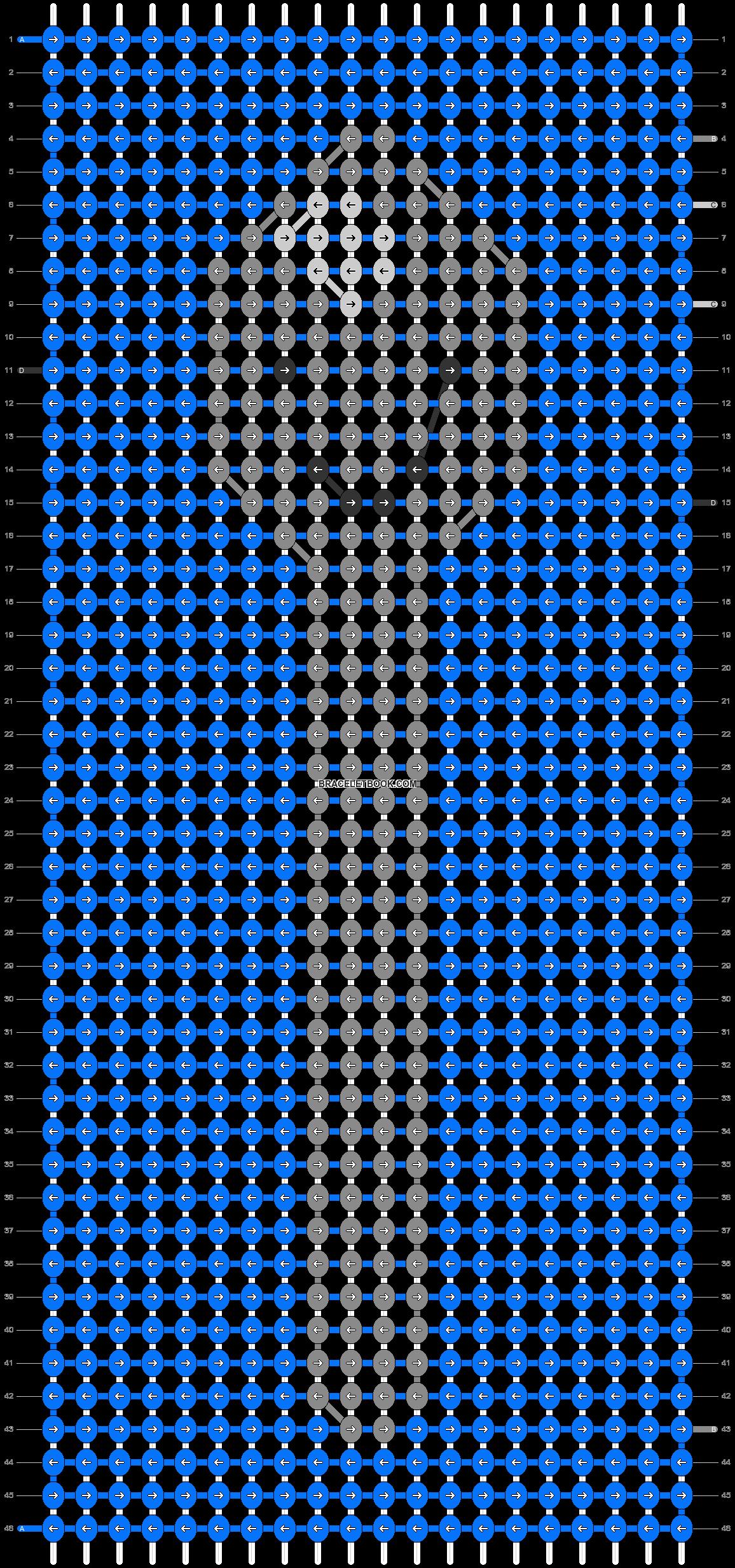 Alpha pattern #70376 pattern