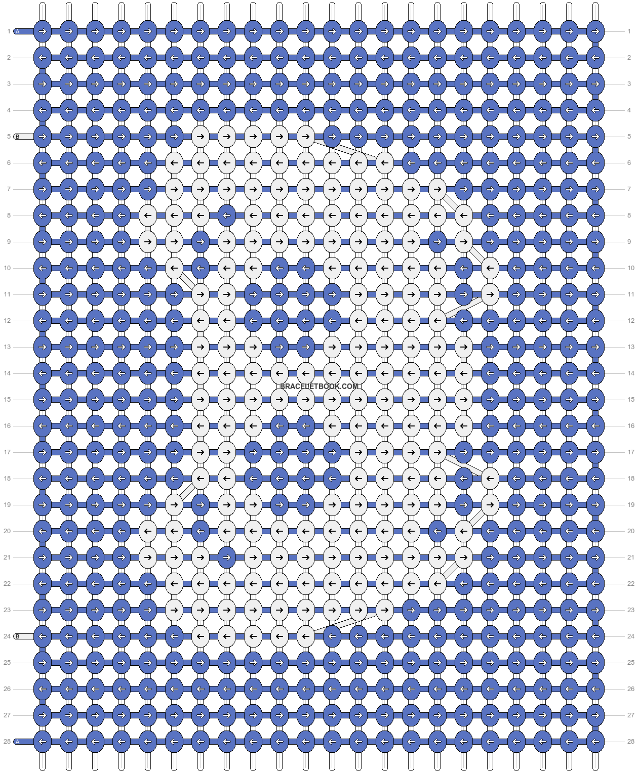Alpha pattern #70382 pattern