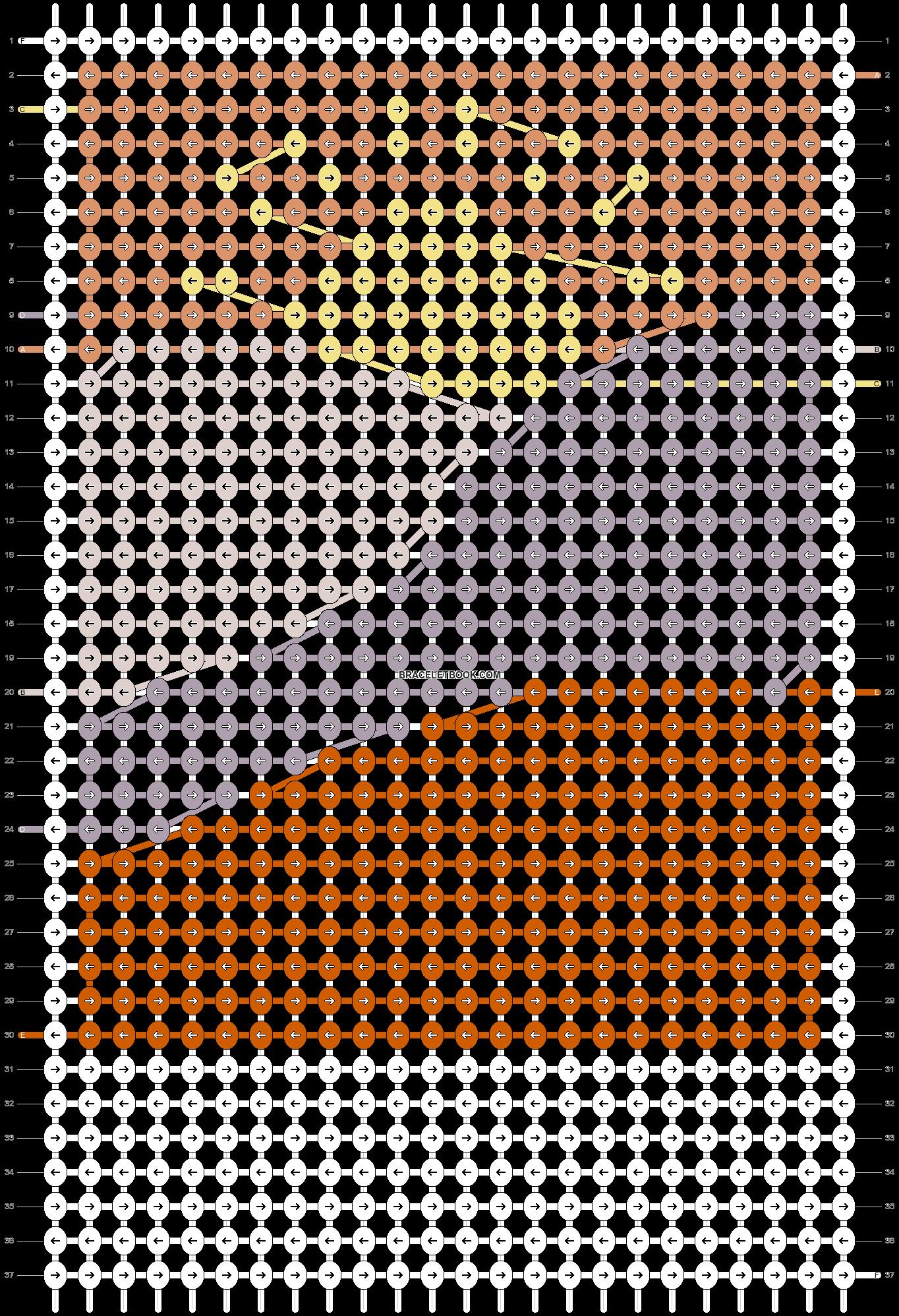 Alpha pattern #70412 pattern