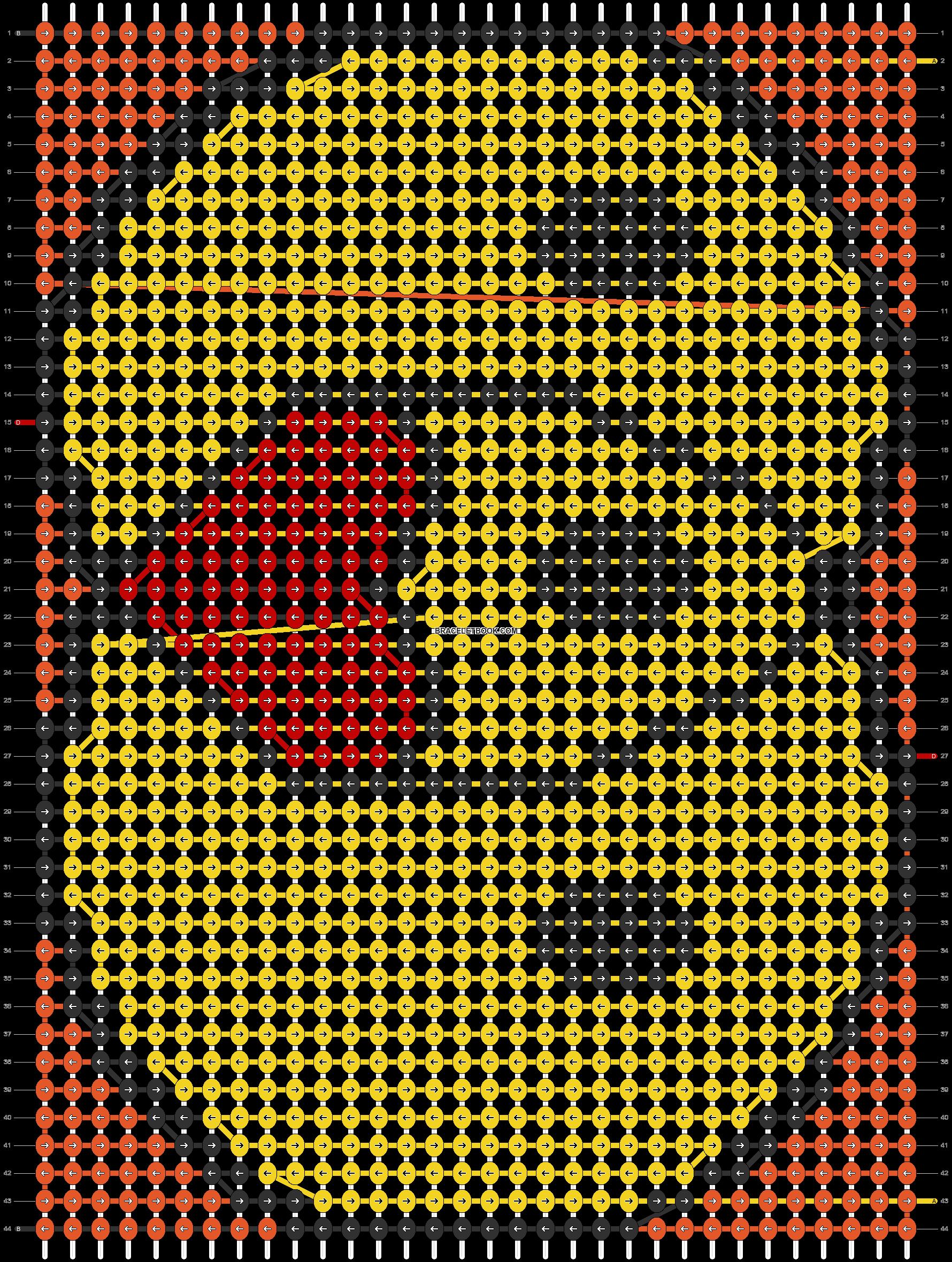 Alpha pattern #70413 pattern