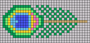 Alpha pattern #70420