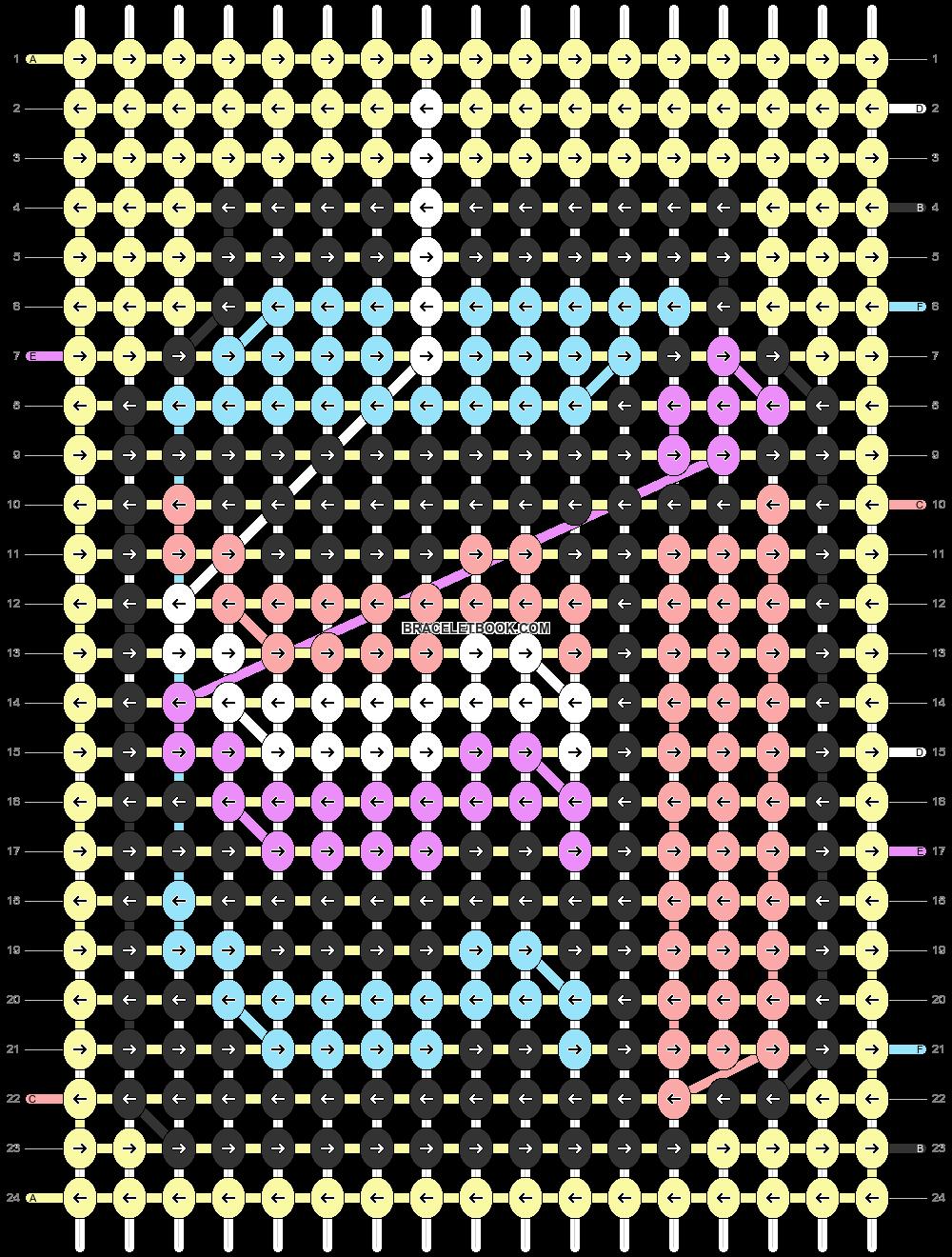 Alpha pattern #70421 pattern