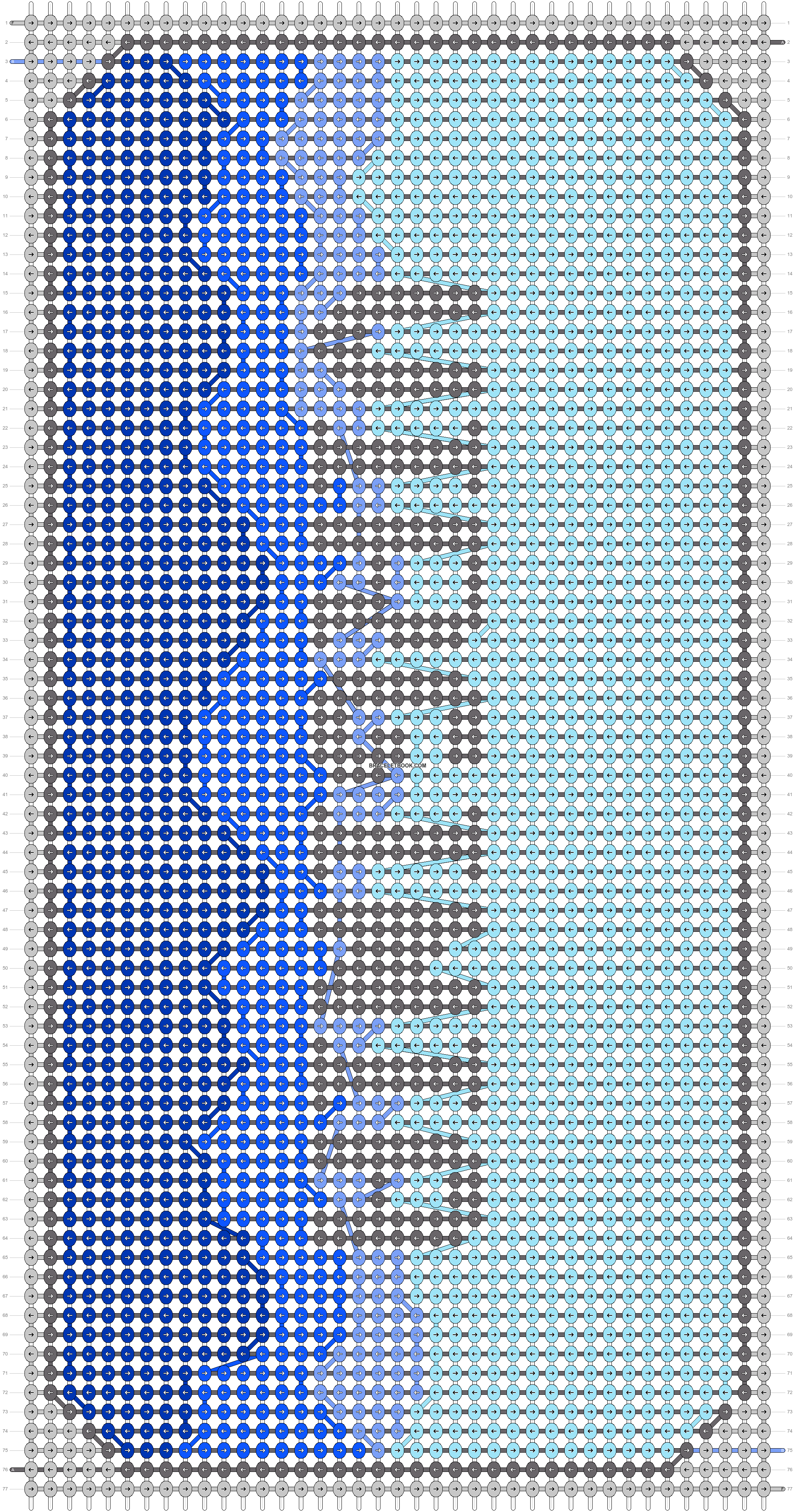 Alpha pattern #70433 pattern