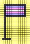 Alpha pattern #70504