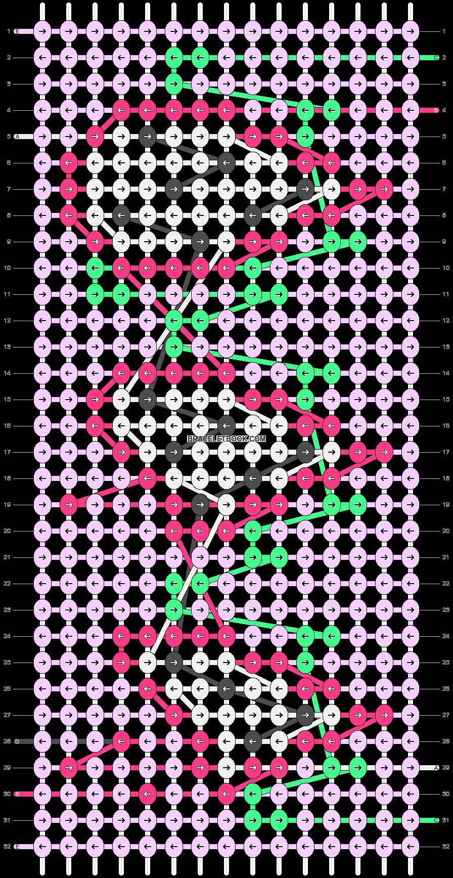 Alpha pattern #70529 pattern