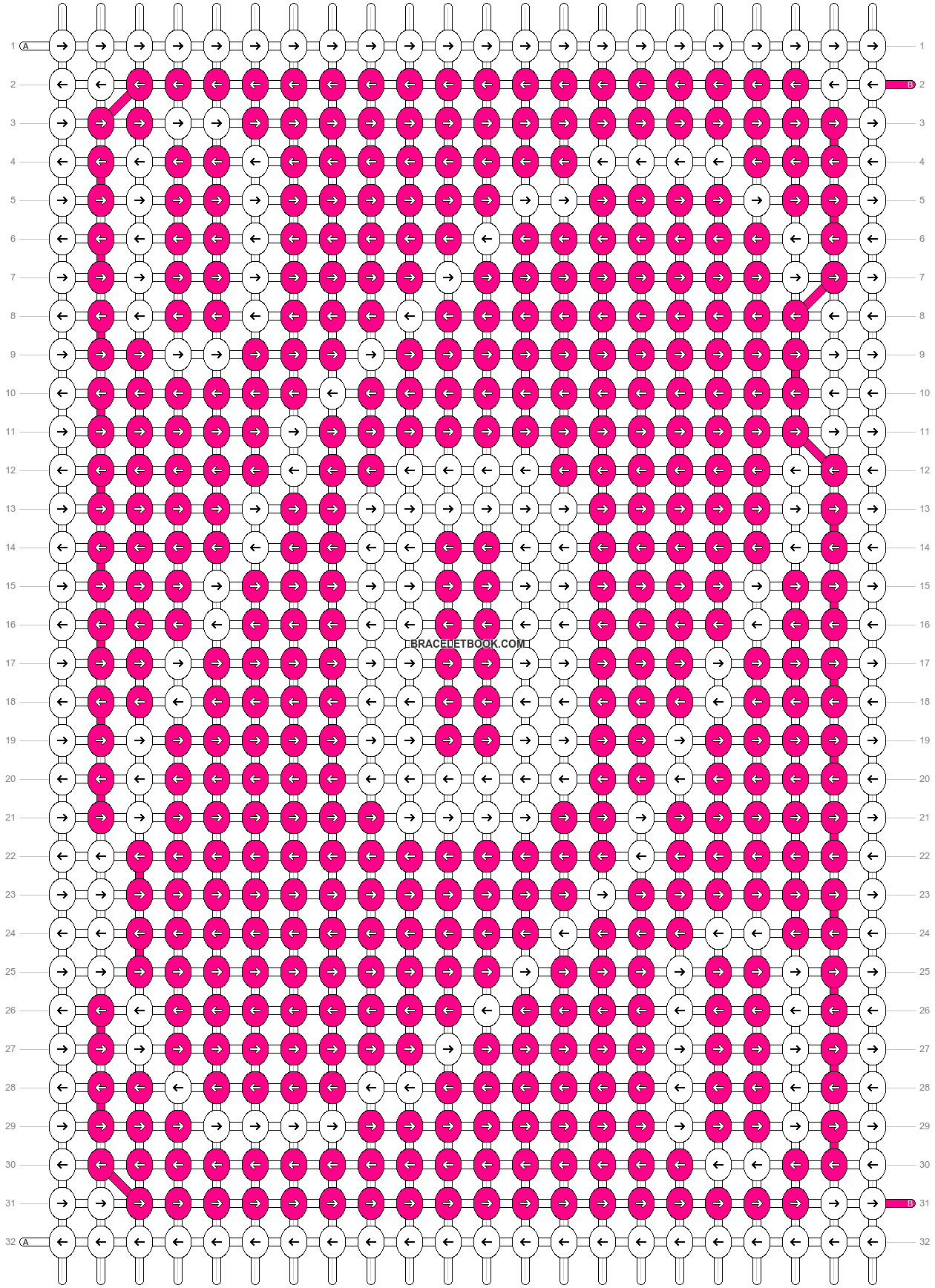 Alpha pattern #70546 pattern