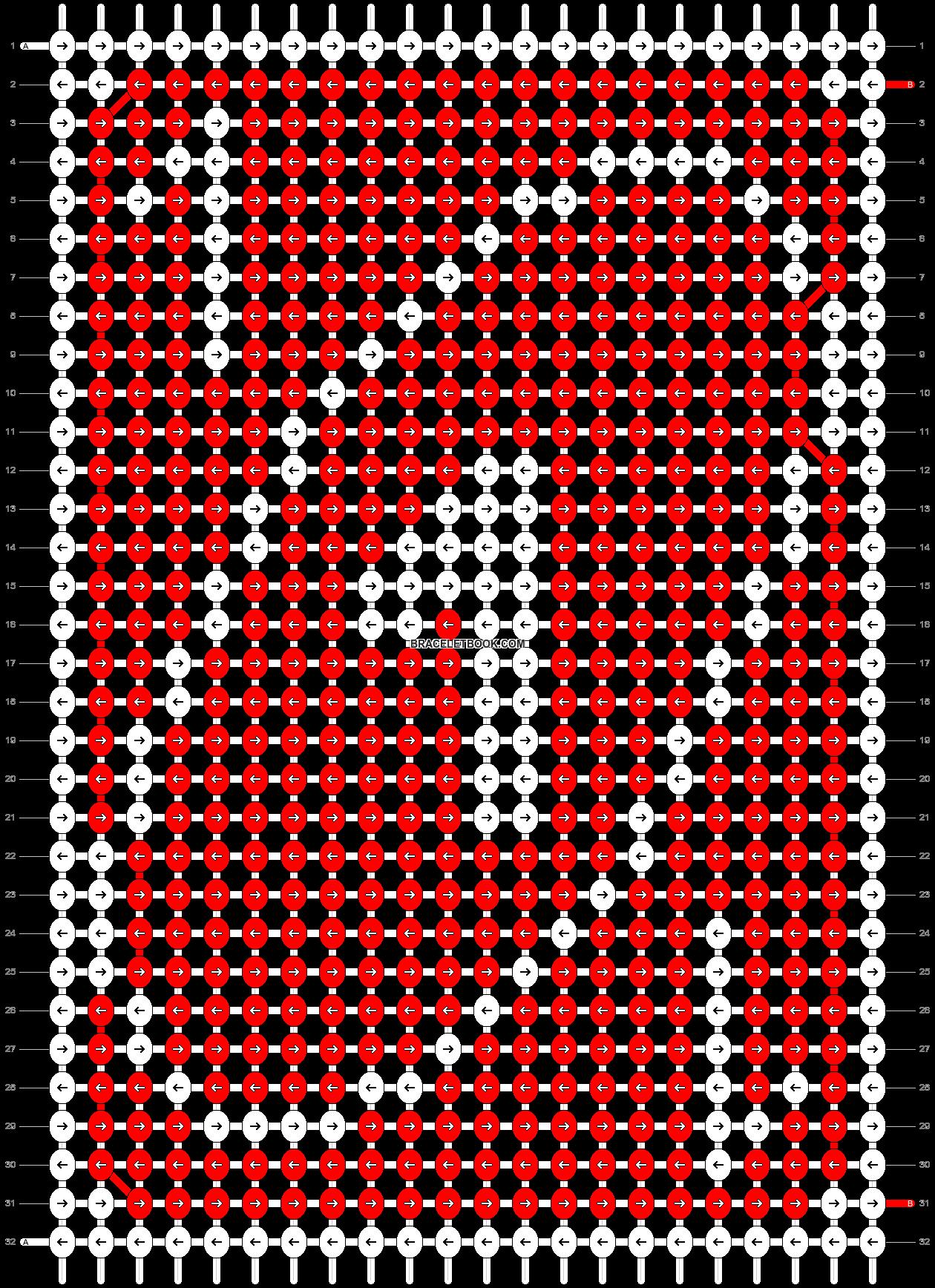 Alpha pattern #70547 pattern
