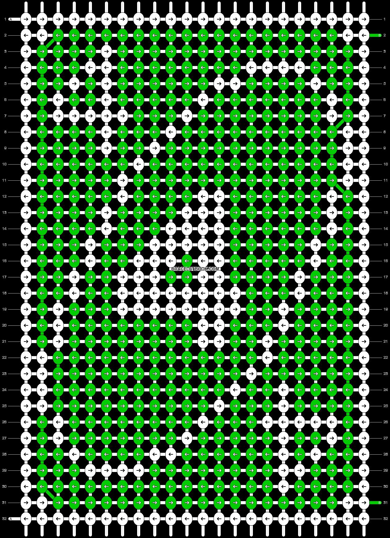 Alpha pattern #70550 pattern