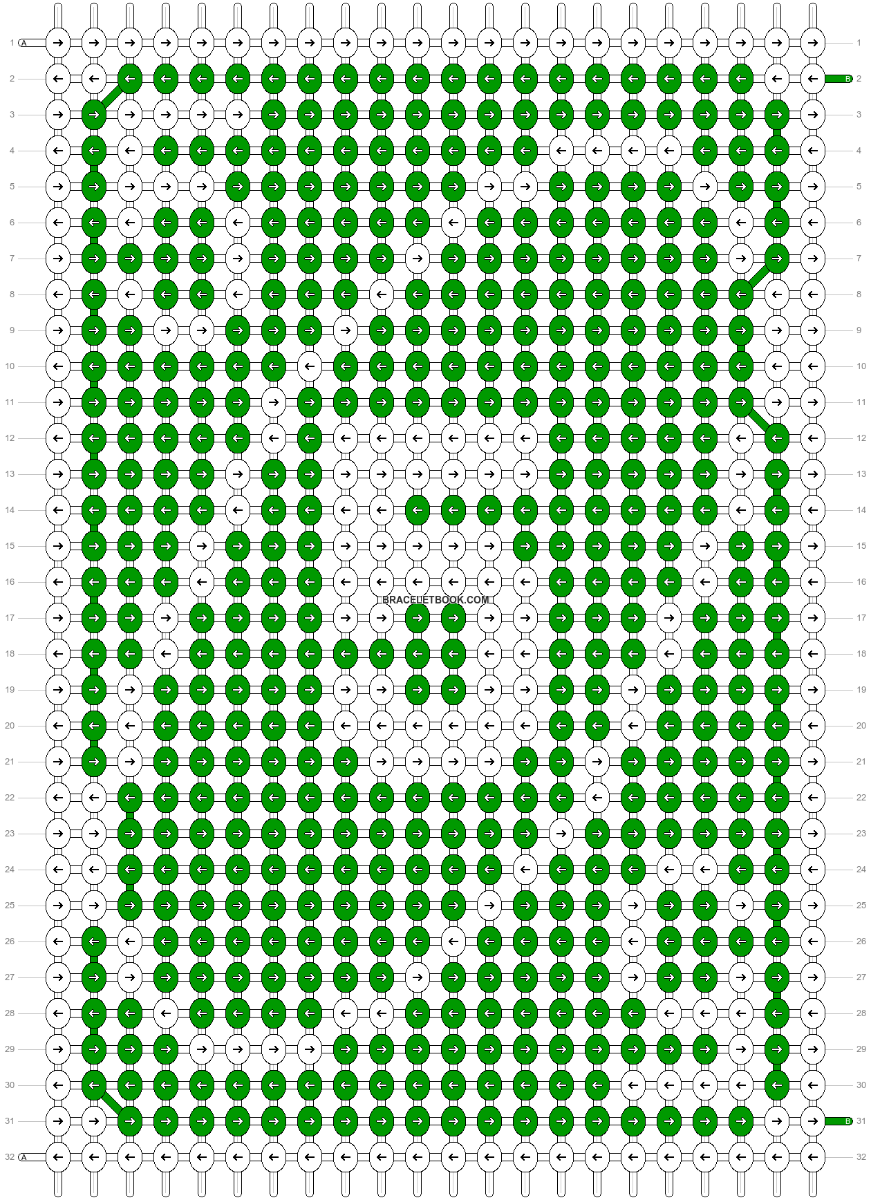 Alpha pattern #70551 pattern