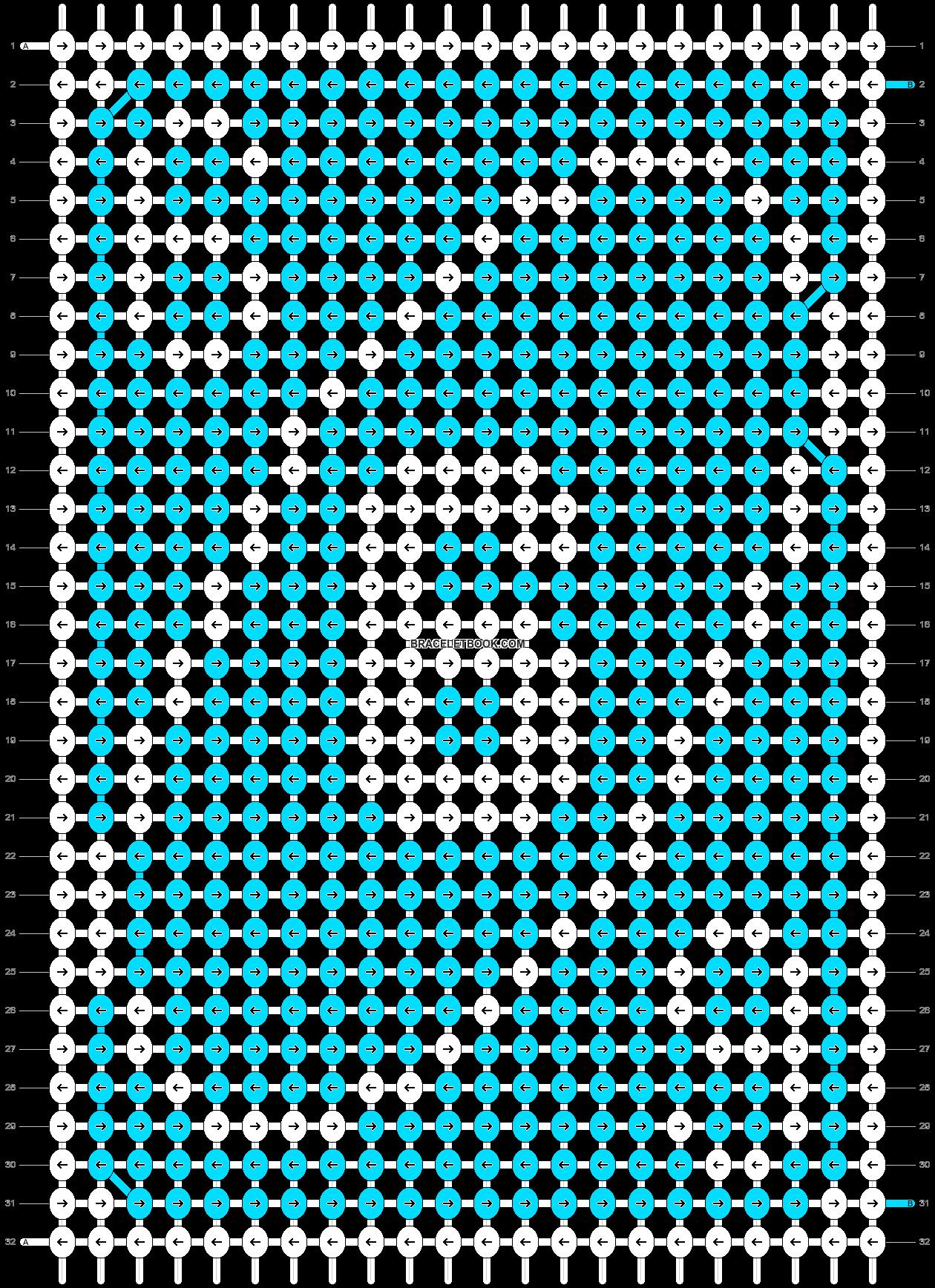 Alpha pattern #70552 pattern