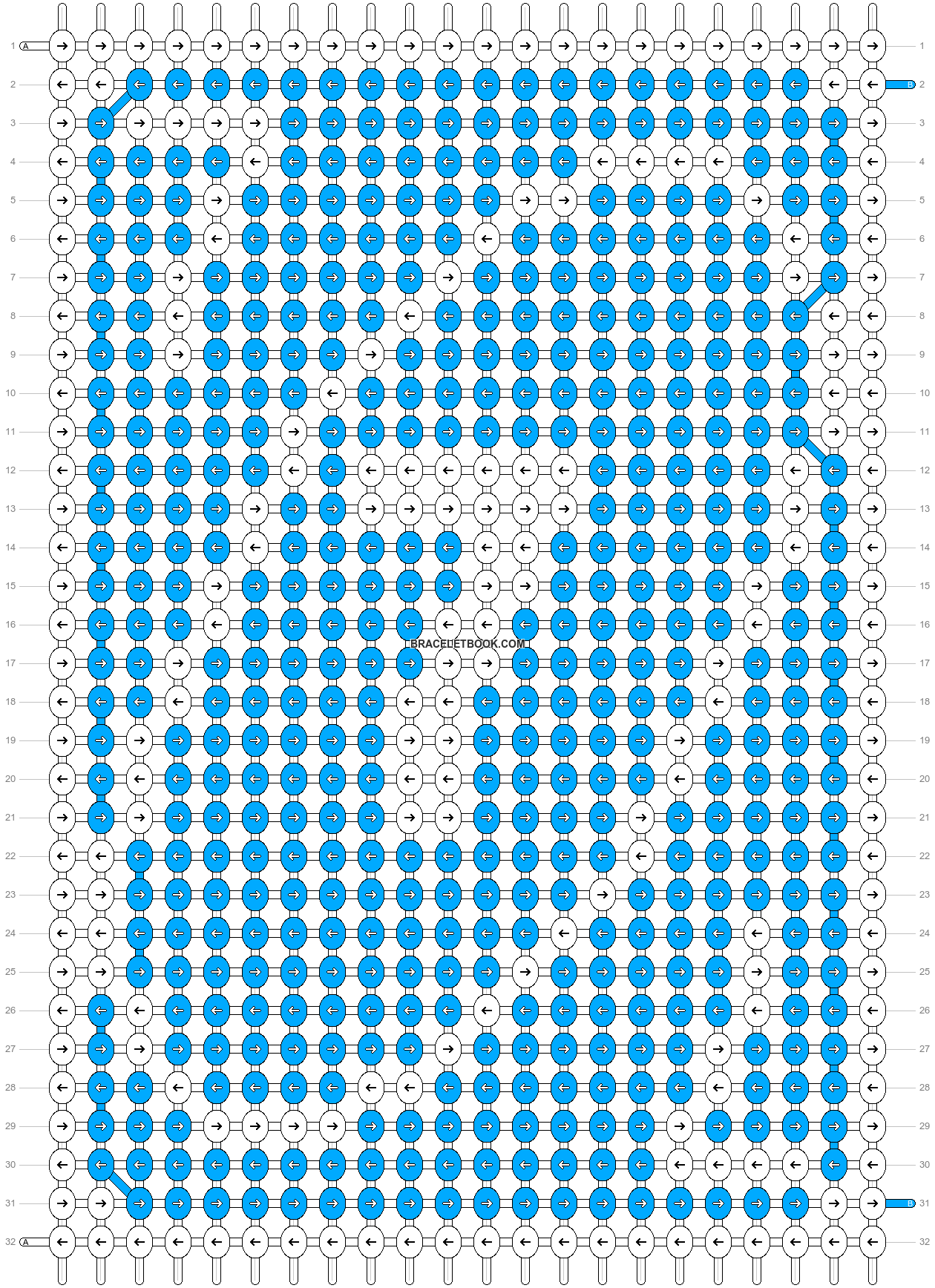 Alpha pattern #70553 pattern