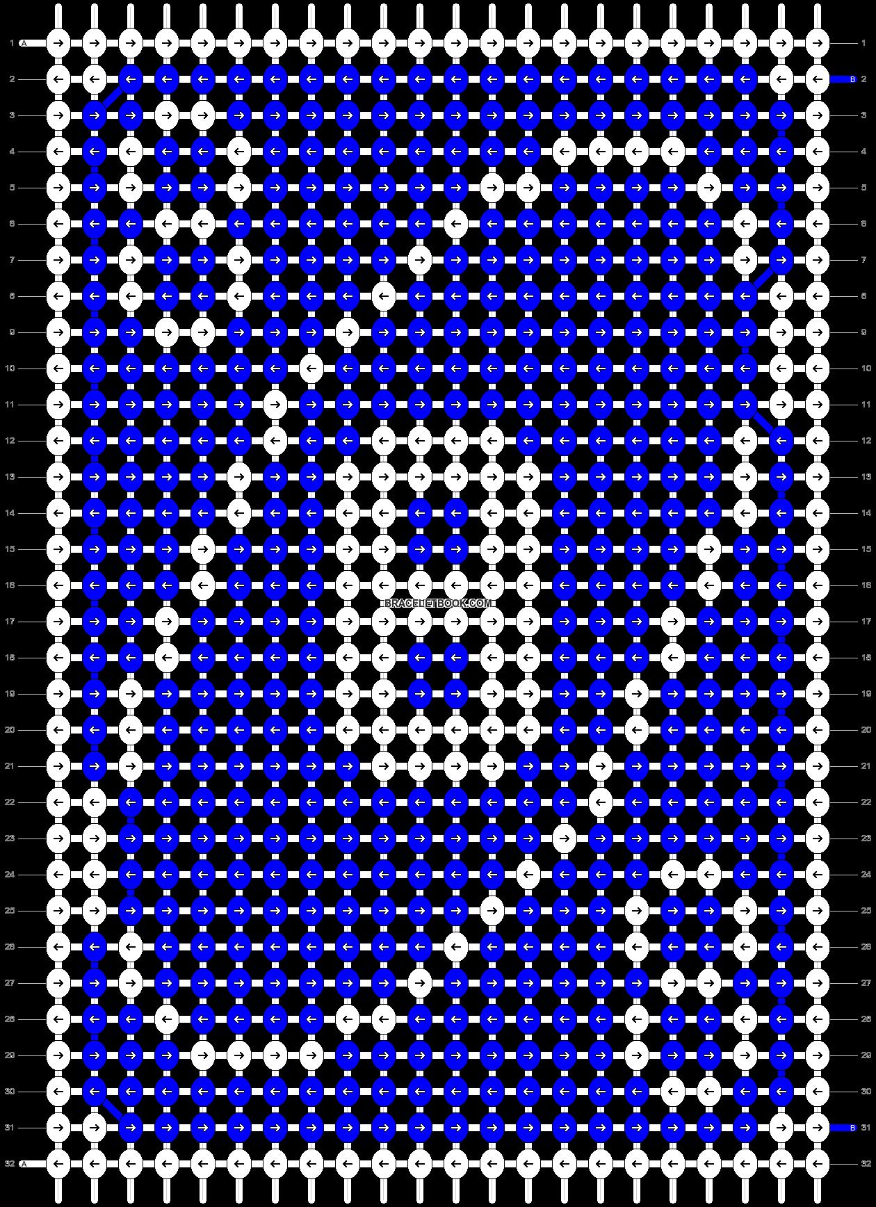 Alpha pattern #70554 pattern