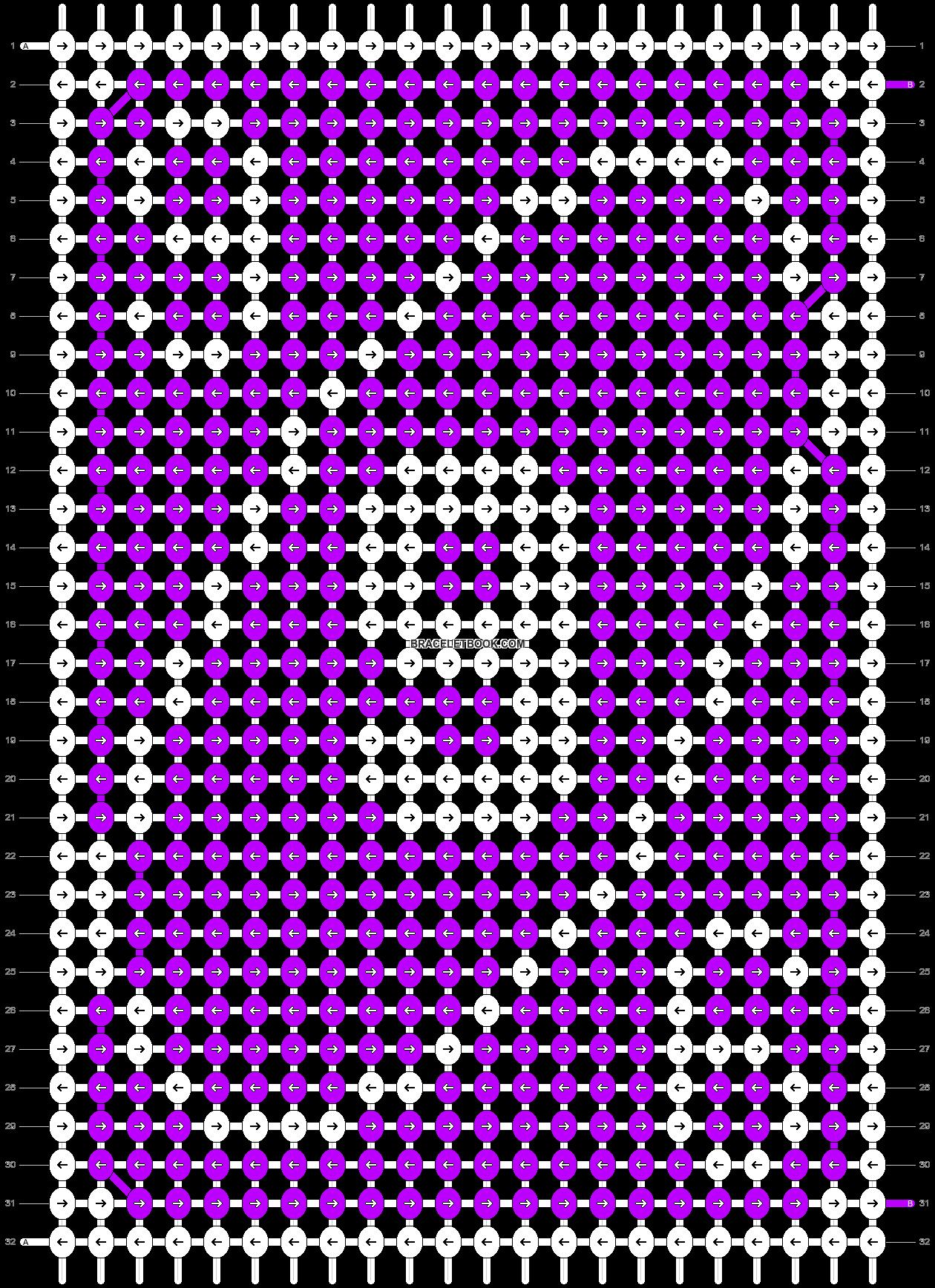 Alpha pattern #70555 pattern