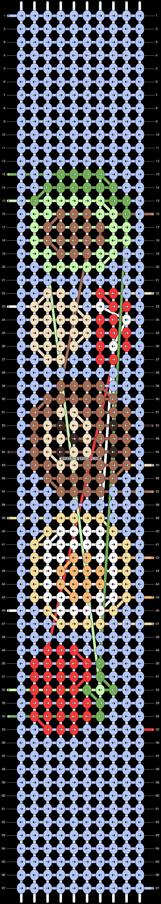 Alpha pattern #70604 pattern
