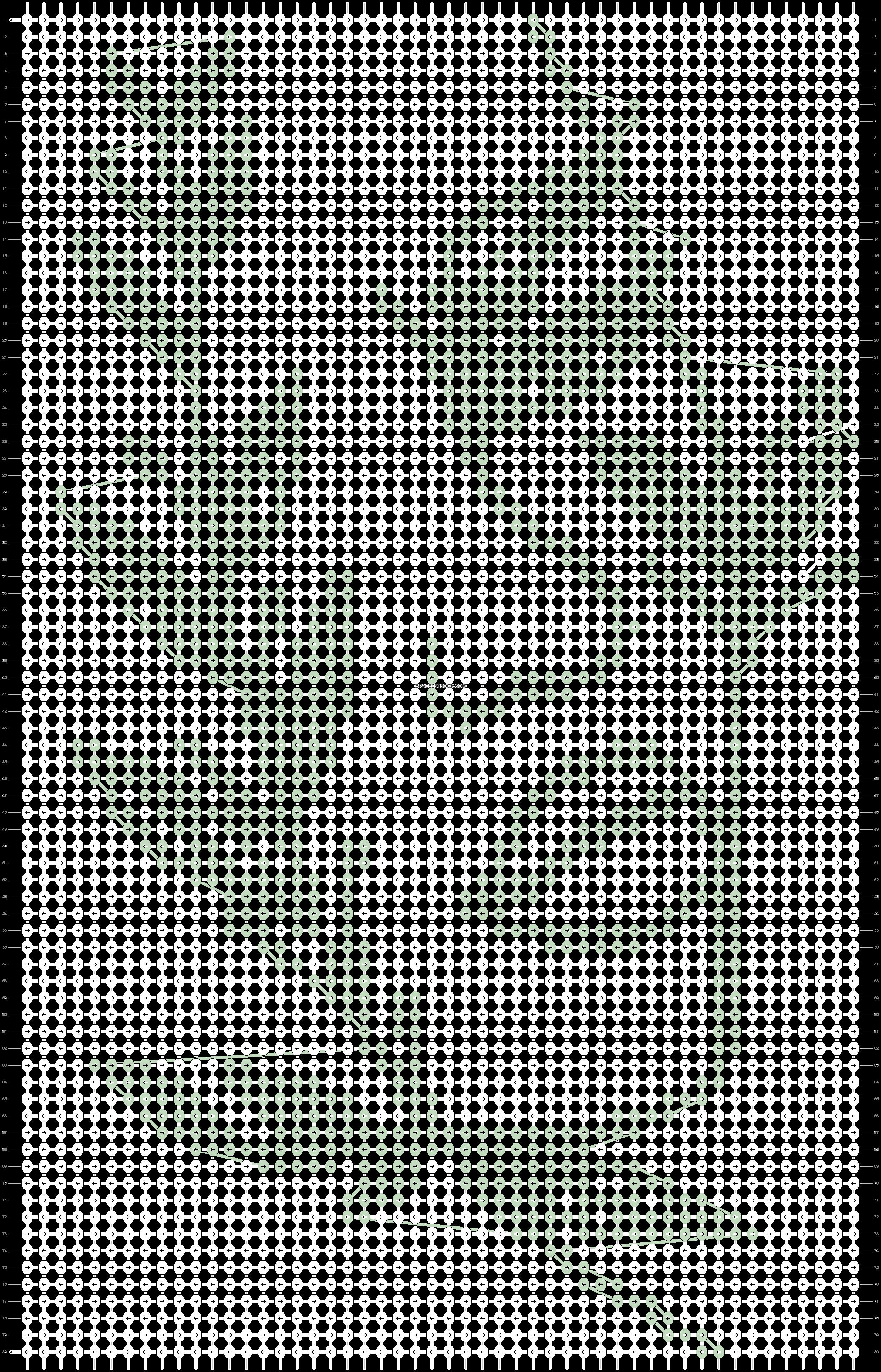 Alpha pattern #70627 pattern