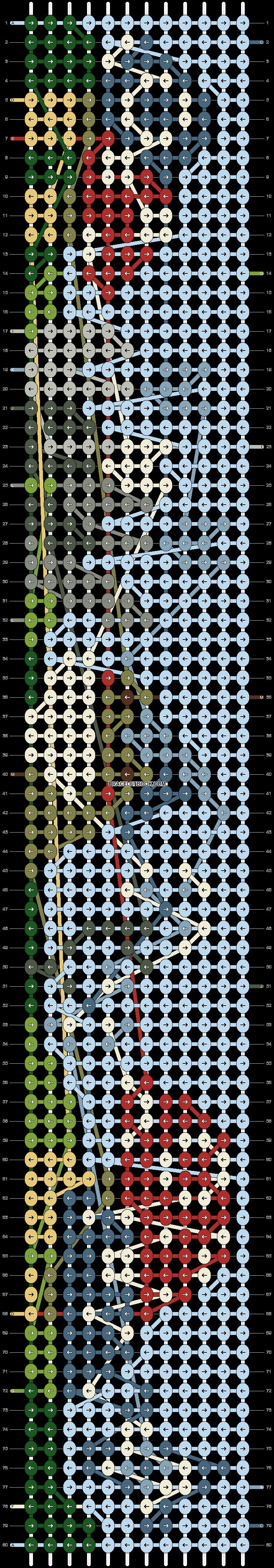 Alpha pattern #70679 pattern