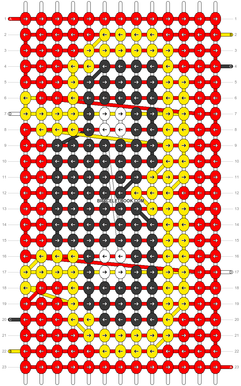 Alpha pattern #70712 pattern