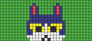 Alpha pattern #70732