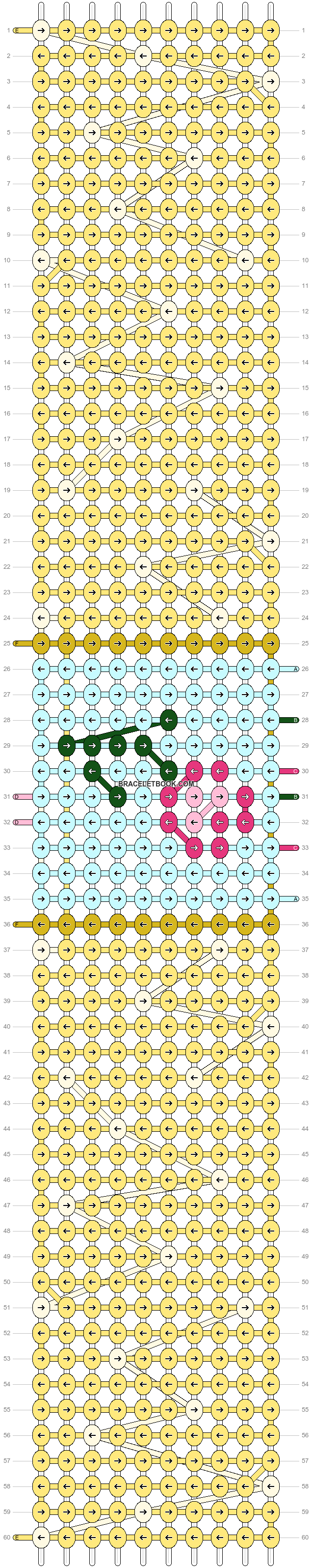 Alpha pattern #70845 pattern