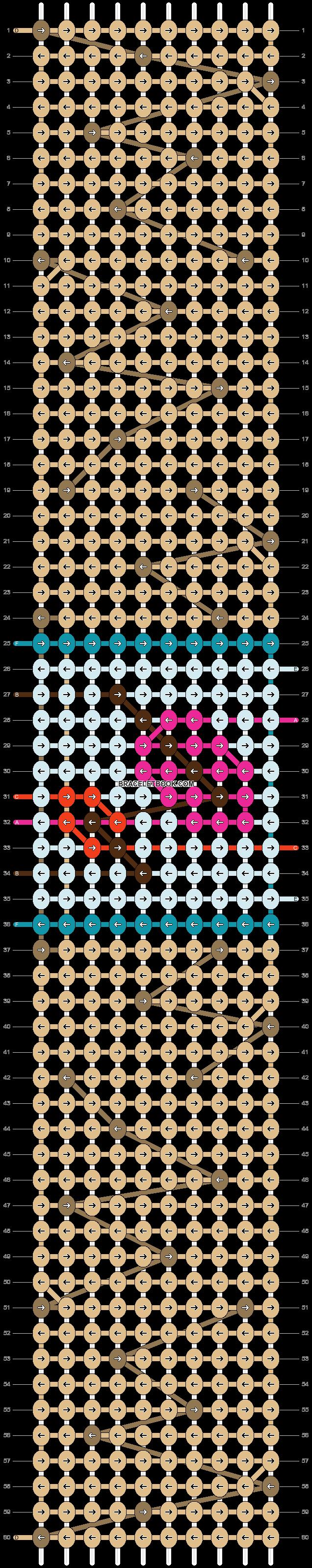 Alpha pattern #70846 pattern