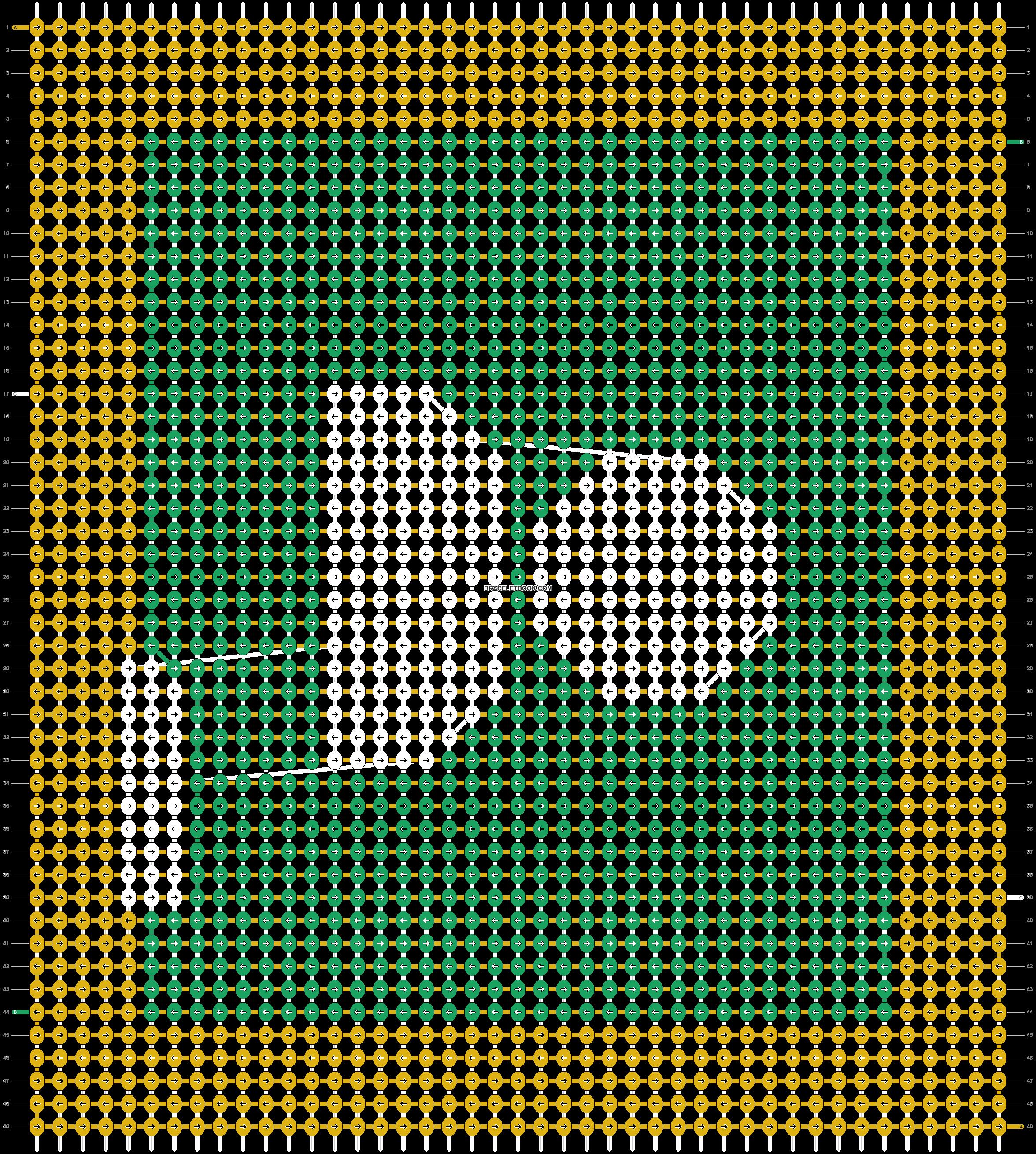 Alpha pattern #70855 pattern