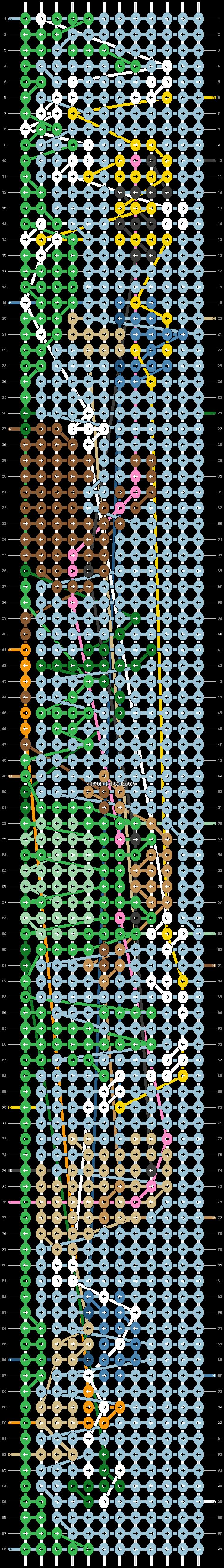 Alpha pattern #70857 pattern