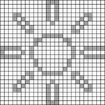 Alpha pattern #70859