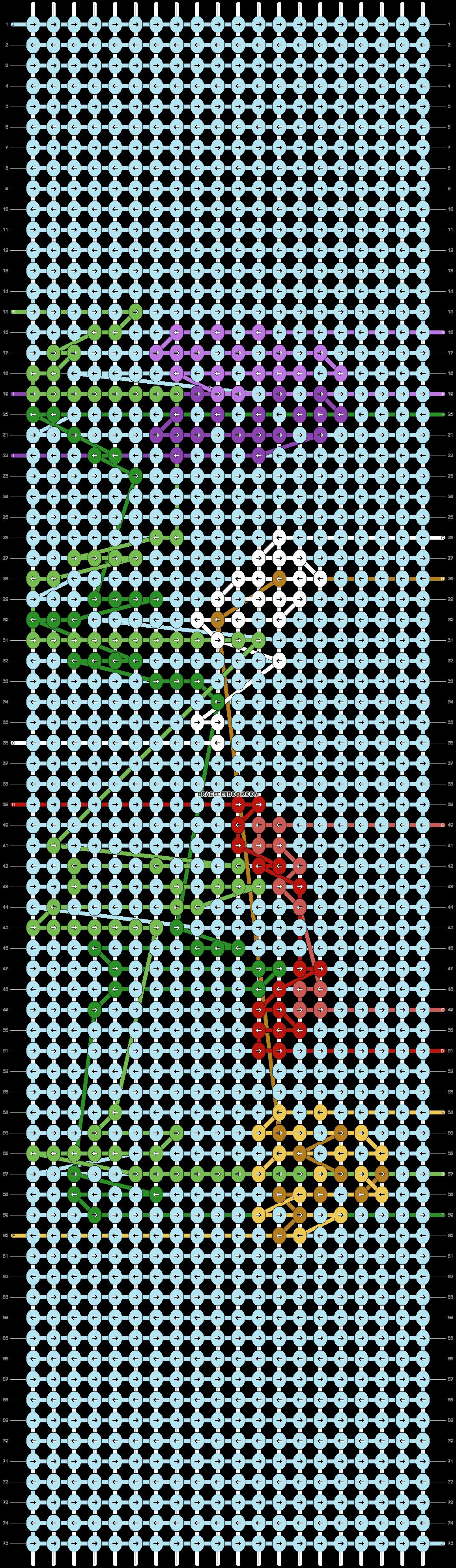 Alpha pattern #70861 pattern
