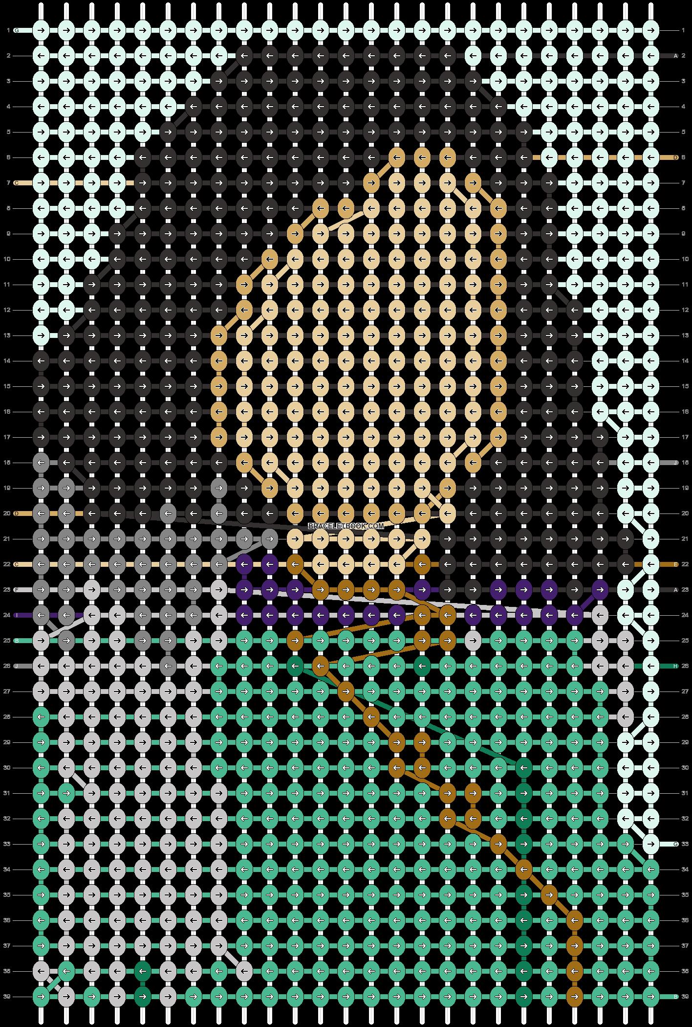 Alpha pattern #70908 pattern