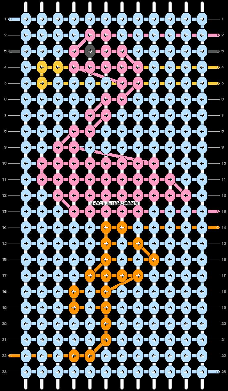 Alpha pattern #70909 pattern
