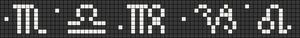 Alpha pattern #70929