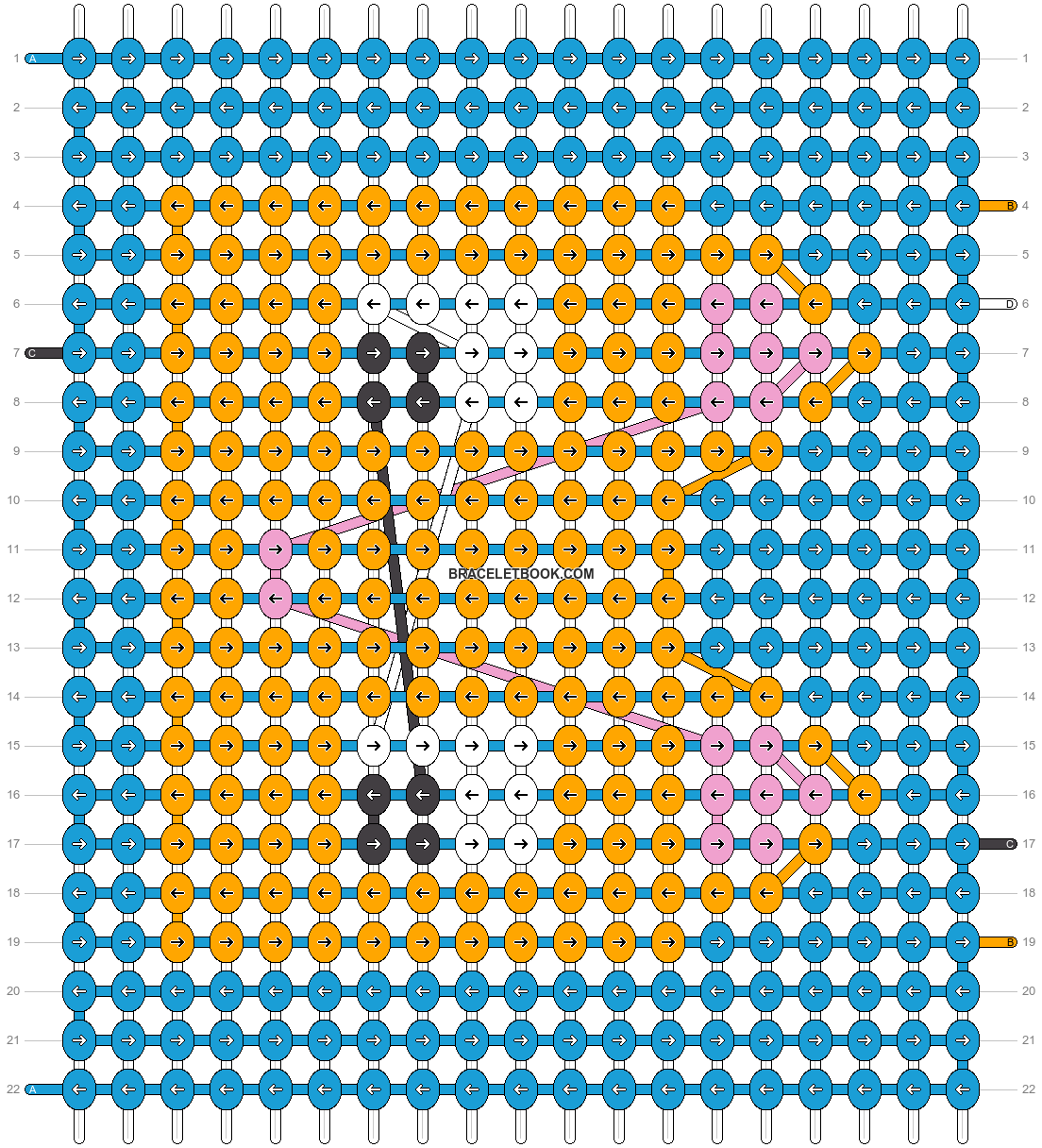Alpha pattern #70953 pattern