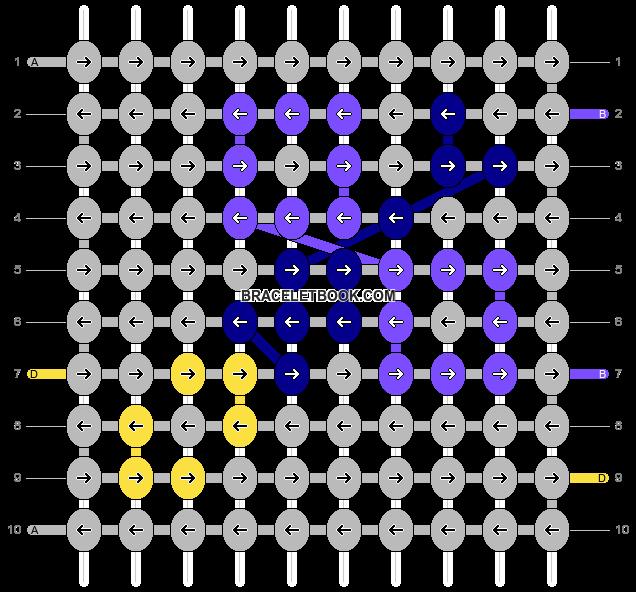 Alpha pattern #70969 pattern